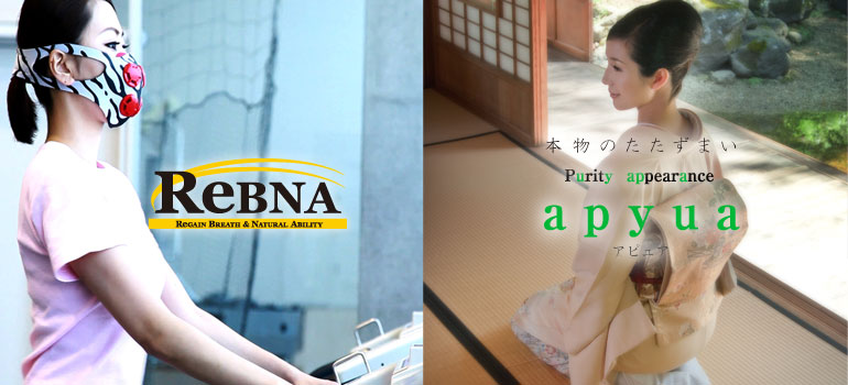 ReBNA  &  apyua Web Shop !!  PATENT WORKS Inc.