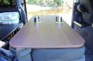 200系ハイエース用 セカンド シート テーブル