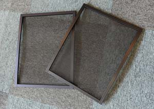 200系1〜3型ハイエース用バグネット(網戸) 小・小セット