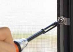200系1〜3型(H16年8月〜H25年11月)ハイエース用バグネット(網戸)−シルバー 【画像10】