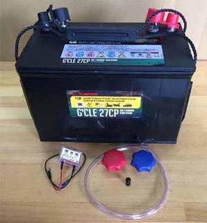 セミサイクルバッテリーG'cleシリーズ 105A 115A