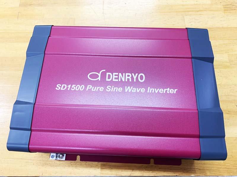 自動切換リレー内蔵式正弦波インバーター(1500W)ーST1500
