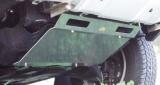 ランドクルーザー120プラドのカスタムパーツの一つ アンダーガード