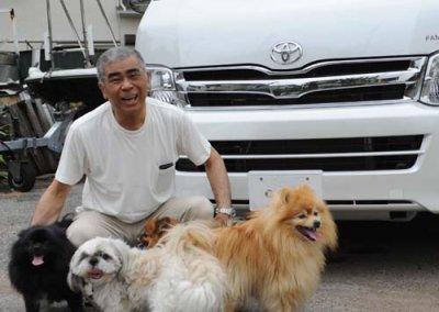 ハイエースで犬と一緒に車中泊へ出かけよう