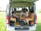 【車種から】ハイエースに関するブログ ハイエースでお出かけ車中泊-子供も休憩