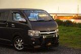 【車種から】ハイエースに関するブログ ハイエース3型にランプステーLED DOTARM装着しランプを点灯!