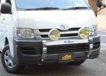 【車種から】ハイエースに関するブログ 200系ハイエースワイド車対応ランプステー「DOTARM」の写真を追加しました