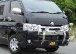 【車種から】ハイエースに関するブログ 200系ハイエース4型用ランプステーの装着写真をアップしました
