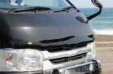 【製品から】フロントプロテクターに関するブログ 200系ハイエース4型用バグガード「フロントプロテクター」新発売!!