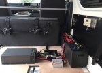 【製品から】ソーラー、走行、外部充電など充電システムに関するブログ 4型ハイエースに取り付けた電装カスタム