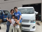 【車種から】ハイエースに関するブログ 千葉県のNさんご一家のハイエースにベバストFFヒーターを取り付けました。