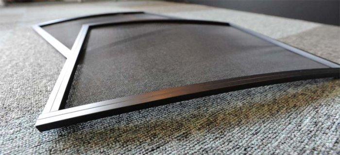 200系1〜3型(H16年8月〜H25年11月)ハイエース用バグネット(網戸)−ブラック【画像3】