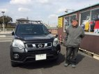 T31エクストレイル 埼玉のNさんがRUSHフィルターを買いに来てくれました