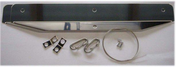 T.K TECH製マッドフラップ用ワイヤー巻き込み防止金具セット