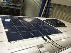 【製品から】ソーラー、走行、外部充電など充電システムに関するブログ 薄型ソーラーパネルが能力アップしました