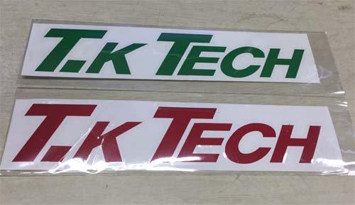 T.K TECHオリジナルロゴステッカー
