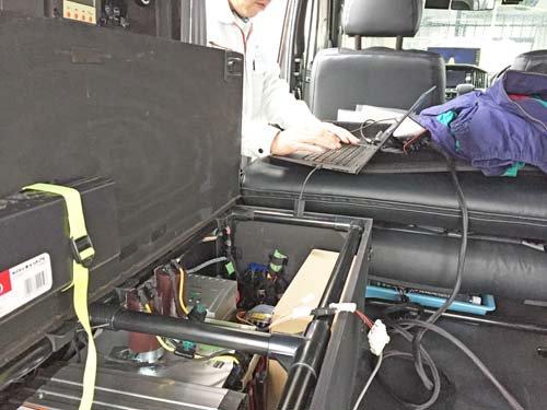 ベバストFFヒーターコンピューター診断 ライトエース