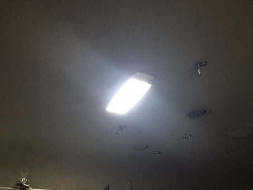 純正室内灯をLED化