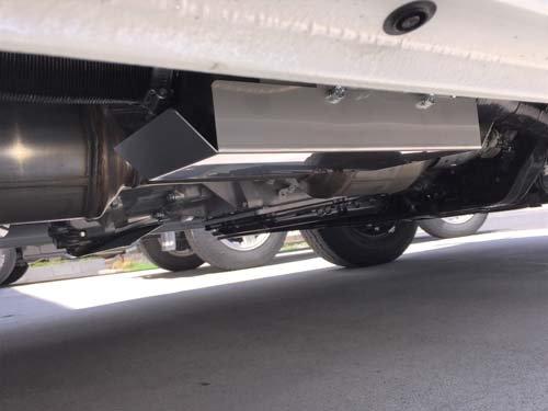 ベバストFFヒーターを車体下に取付は不安?