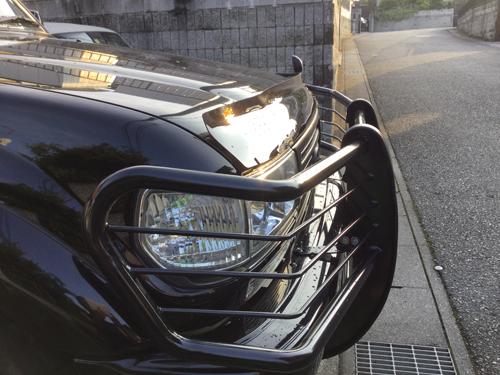 茨城県Iさんからの投稿写真。ランクル80にバグガードを取り付け