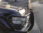 茨城県Iさんのランクル80 フロントプロテクター(バグガード)を取付