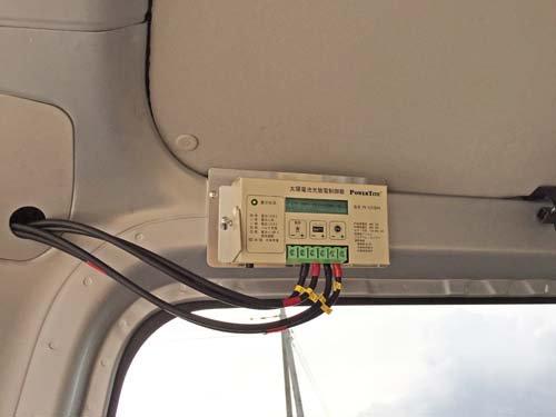 ソーラーパネルとコントローラーは相性があります