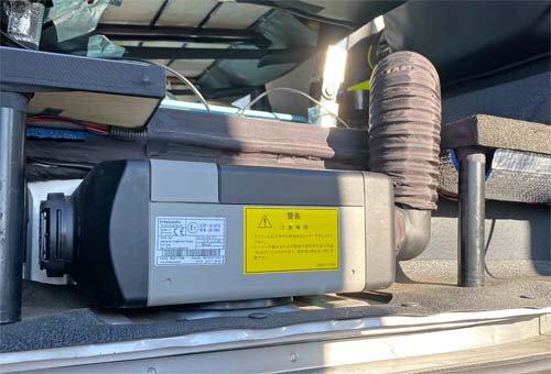 ベバストヒーター2000STCのコンピューター診断