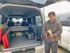 神奈川県Aさんのハイエースにベバストヒーターと電装BOX他施工