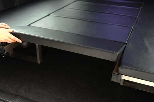 座れる車中泊ベッド-NV350キャラバン用【画像8】