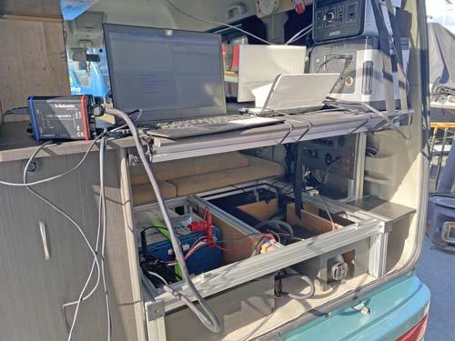 NV100クリッパーリオのベバストヒーターコンピューター診断