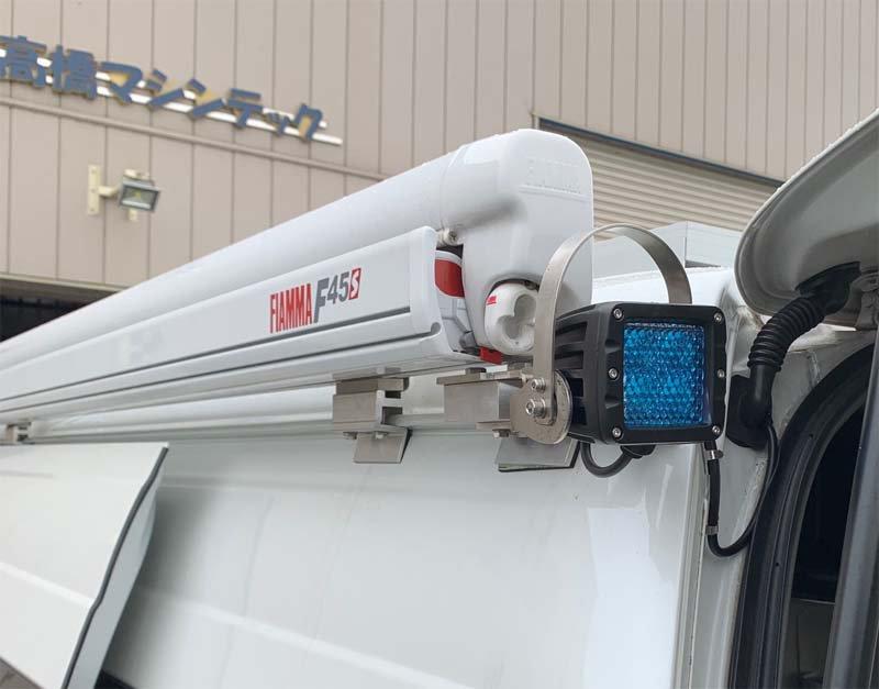 200系ハイエースにIPF 642WLシリーズを取付