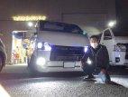 栃木県Kさんのローダウンのハイエースにベバストヒーター取付