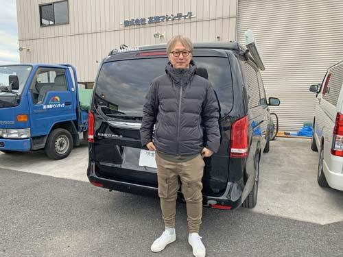 埼玉県Nさんのベンツ マルコポーロにベバストヒーターや電装品を取付施工