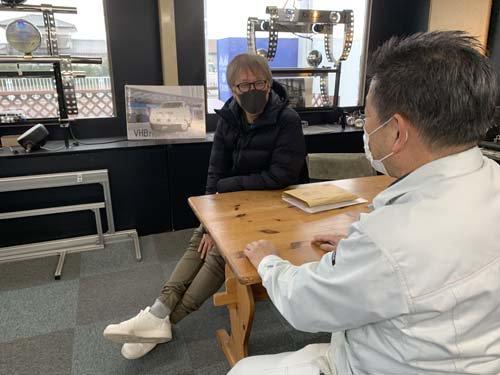 埼玉県Nさんのベンツマルコポーロに外部電源を施工しました