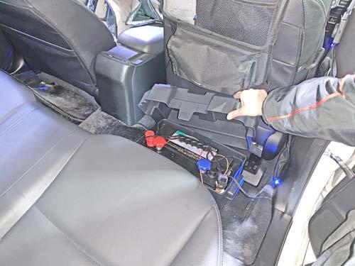 スバルXVにディープサイクルバッテリーを載せました