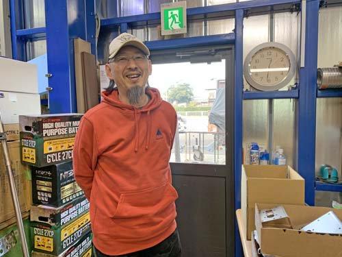 ランクル80用RUSHフィルターを買いに来てくれた埼玉県Sさん