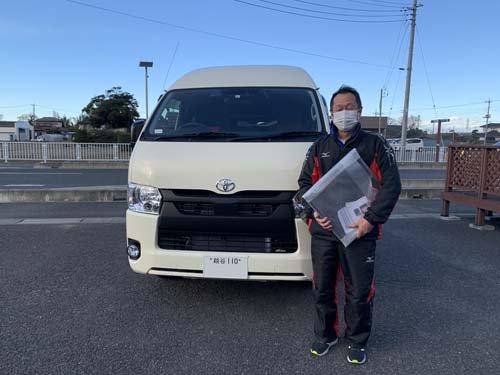 バグネットを買いに来てくれた埼玉県のMさんです。