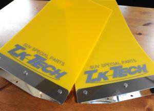 汎用マッドフラップ TKテック 黄色