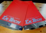 マッドフラップ(汎用タイプ/専用タイプ) 汎用マッドフラップ TKテック 赤色