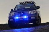 ランクル200 パーツ ランドクルーザー200 用 LED DOTARM(フォグランプ付ランプステー)