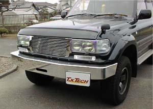 ランドクルーザー80 用フロントプロテクター(バグガード)