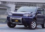 4WD/SUVパーツ(エクステリア) T30エクストレイルM/C前LED DOTARM フォグ&青リング付ランプバー