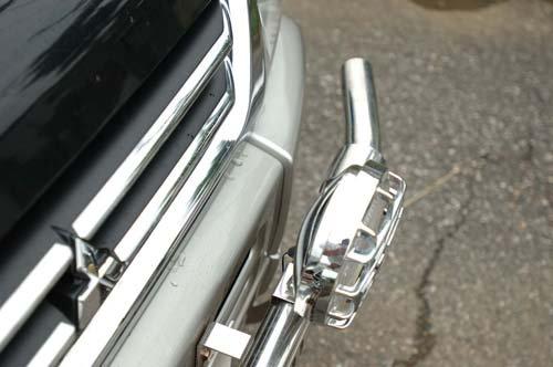 パジェロミニ用VHB(大型フォグランプ取付用ランプバー)ストレートタイプ【画像7】