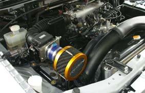 V70パジェロ(6G72)用RUSHフィルター アタッチメントセット