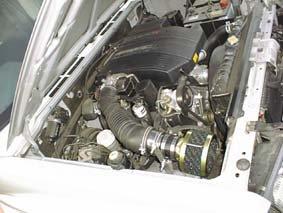E55Wパジェロエボリューション(6G74)用RUSHフィルター アタッチメントセット