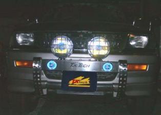 チャレンジャー用LED DOTARM(フォグランプ付きランプステー)