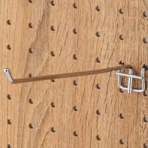 有孔パネル用フック 10本セット クローム φ4mm 長さ20cm 【EX6-123-8-5】