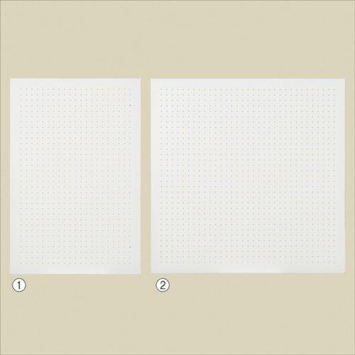 壁をお洒落に飾る! 有孔パネル 壁面取付タイプ ホワイト 選べる2サイズ【有孔ボード 壁面取付金具付き】【EX6-553-72】