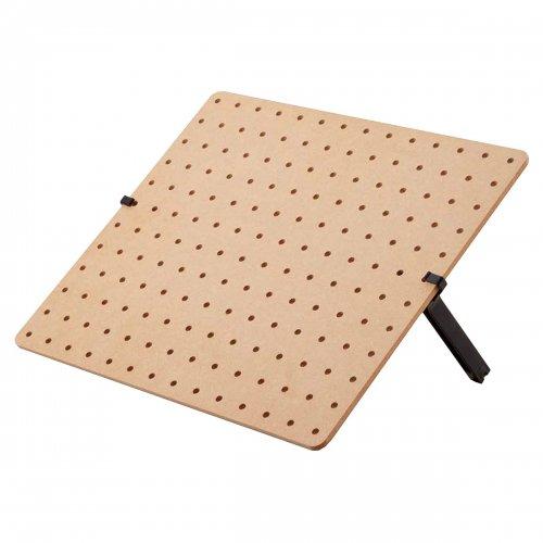組み立て簡単! どこでも使える! おてがる卓上有孔ボード 選べる4タイプ【EX6-771-16】