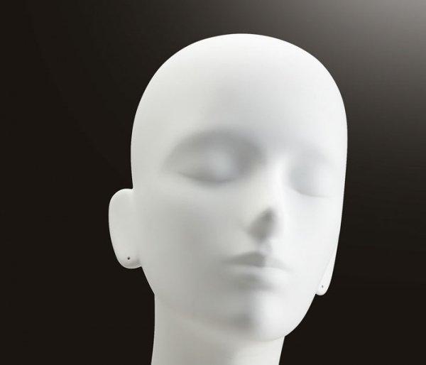 ヘッドマネキン画像